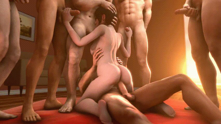 3D Porn GIFs. Animated Images of Sex in Three Dimensions
