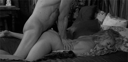 GIFs de pornô preto e branco. 140 imagens animadas de sexo incolor