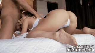 Beautiful Blowjob. GIF Images of Nice Sucking. More than 100 pieces
