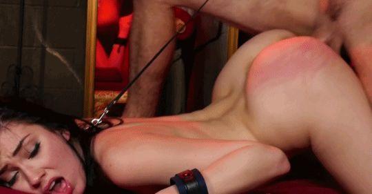 GIFs BDSM. Subordination, liaison, porn Animation