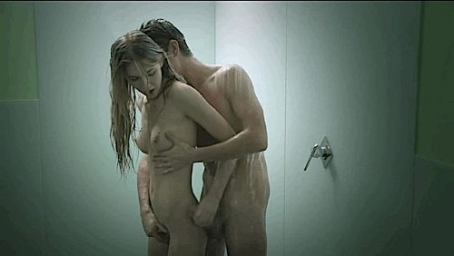 GIFs Sex in the Bathroom. Big collection of porno GIF animations