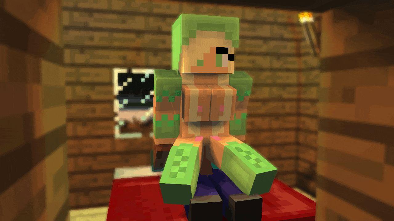 Porn animation Minecraft, vidéo, GIF. Les scènes de sexe basé sur le jeu