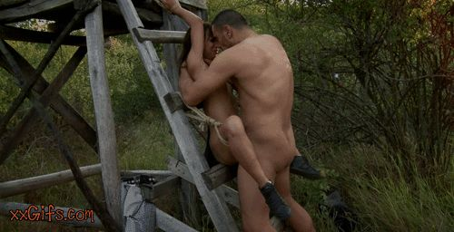 GIFs Sex Outdoors. Erotic&Porn Collection