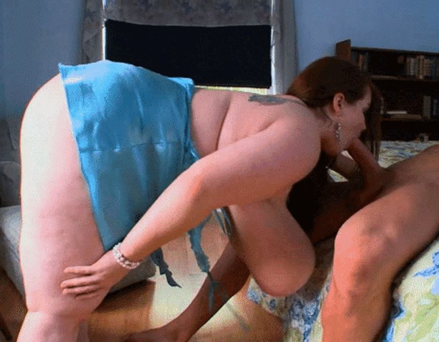 Porn GIFs BBW. Animated Images of Large Women Having Sex