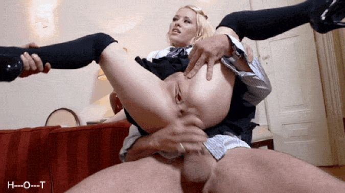 Porn GIFs of Schoolgirls, Sex at School. Over 100 GIF Animations