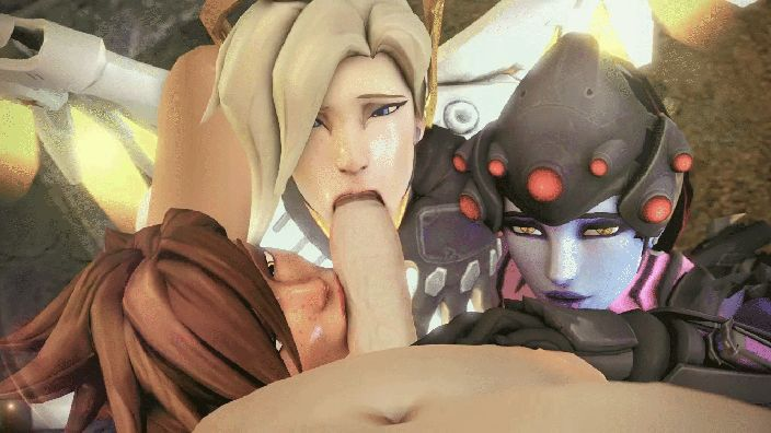 Porn GIFs Overwatch. More than 100 pieces of animated pictures!