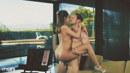 GIFs: sexe debout. 100 images GIF Animations