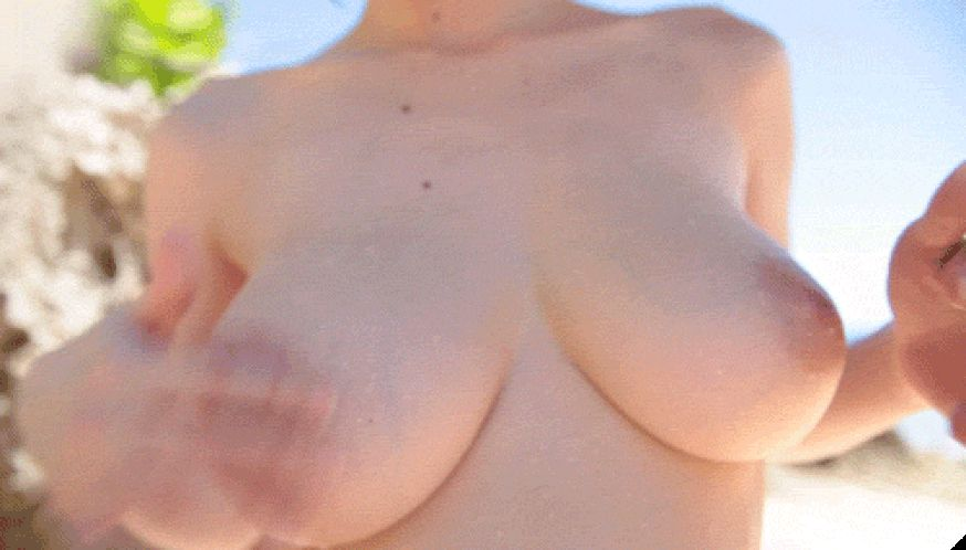 GIFs Tits. Beautiful Female Breasts. Porn and Erotic
